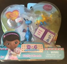 Disney DOC McStuffins Stuffy & Rhonda Figures With Accessories - Brand New