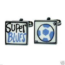 Super Blues Football Sonia Spencer Cufflinks Brand New