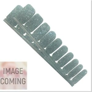 Jaysea Nails Polish Strips - Color Dark Gray Glitter Street Nail Art -B4G1 Free!