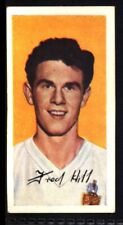 Barratt Famous Footballers A10 (1962) Fred Hill (Bolton Wanderers) No. 30