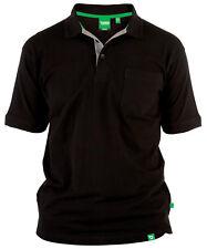 Duke D555 GRANT Grande Alto Tamaño King Camisa Polo De Algodón Puro HOMBRE