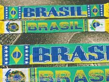 "Brasilien Schal ""BRASIL"" 1 Selecao WM 2014 Fan Ordem e Progresso +neu+100%Acryl+"
