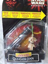 Star Wars episodio 1-Deluxe Qui-Gon Yinn figura