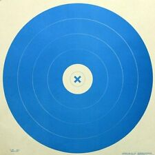"G66 [AY66] - Indoor Archery Target, Blue, 40cm rings, 17"" x 17"" (15 pack)"