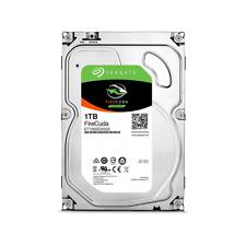 """Seagate 1TB SSHD 3.5"""" Internal Desktop Hybrid Hard Disk Drive 8GB SSD SATA3 64MB"""