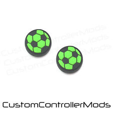 2 x Football Analog Thumb Sticks Cover Grip Button Caps Sony PS4 Controller