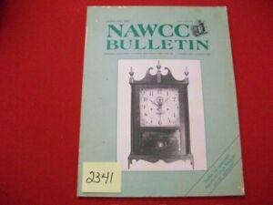 NAWCC BULLETIN VOL 29/1 #246 FEB. 1987 HOROLOGY WEBSTER CLOCKS POCKET WATCH MORE