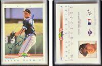 Jason Schmidt Signed 1992 Classic/Best #260 Card Macon Braves Auto Autograph