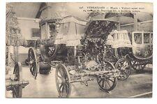 versailles musée,voiture ayant servi au mariage de napoléon III