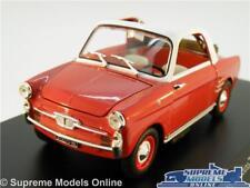 AUTOBIANCHI BIANCHINA MODEL CAR 1:24 SCALE IXO ALTAYA AUTO VINTAGE RED 1958 K8