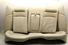 2004 LINCOLN LS REAR SEAT COMPLETE BACK SET L901