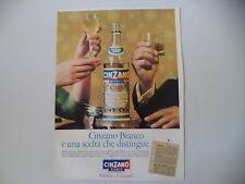 advertising Pubblicità 1964 CINZANO BIANCO