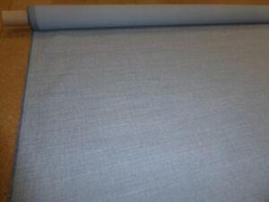 ROMO FABRICS - LINARA STEEL BLUE - Linen Blend Upholstery Fabric