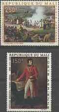 Timbres Personnages Napoléon Arts Tableaux Mali PA66/7 ** lot 22240