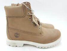 Timberland Womens Anti-Fatigue 6-Inch Premium Boots (8) Beige A149H [101-98]