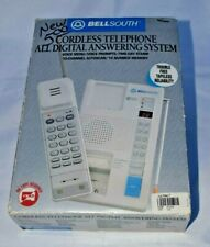 BellSouth Genuine Vintage Tapeless Cordless Telephone All Digital Answering Syst