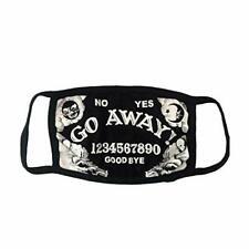 Go Away Ouija Face Mask Kreepsville 666 Horror Fashion Cover
