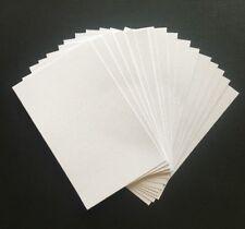 "9.5cm x 15cm ""WHITE"" TEXTURED CARDSTOCK, 20 pack, 216gsm"