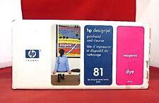 C4952A 81 Genuine New HP Magenta Printhead & Cleaner DesignJet 5000 5500 +