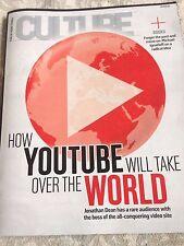 YouTube SUSAN WOJCICKI Culture Magazine April 2016 SAM HEUGHAN Michael Shannon