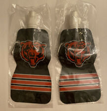 Chicago Bears Foldable Water Bottles 16 oz Constellation SAVEDAPLANET - Lot of 2