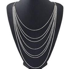 Women Jewelry Chunky Choker Necklace Collar Chain Bib Statement Charm Pendant