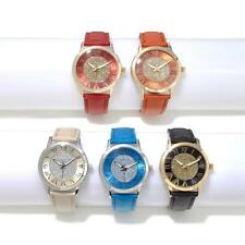 MANHATTAN BY CROTON SET OF 5 GLITTER DIAL STRAP WATCHES HSN SOLD OUT
