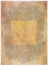 CIALDE di riso per decoupage Decopatch Scrapbook craft Sheet antico cornice