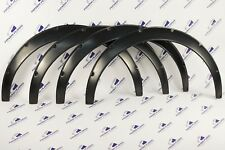 Universal JDM Fender Flares over wide body wheel arches ABS Plastic  50mm 4Pcs