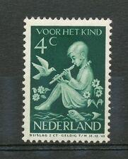 Nederland plaatfout  315 P1 ongebruikt; vlek op de wang