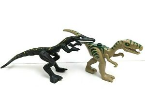 Lego Dino Mutant Lizard Yellow Specks & Rapture Minifig Animals Dinosaurs LOT