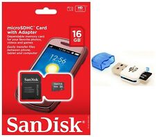 SanDisk 16GB MicroSD Micro SDHC TF Class 4 Memory Card for Galaxy A3 A5 V Note 4