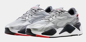 NIB  Men's Puma RS-X3 Silver Running 374808-02-Sneakers