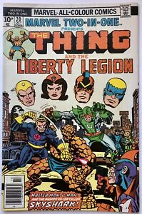 Marvel Two-In-One Vol 1 #20 (1976) The Thing and Liberty Legion