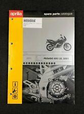 BRAND NEW GENUINE APRILIA PEGASO 650 I.E 2001 SPARE PARTS CATALOGUE AP8826110