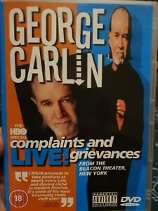 George Carlin - Complaints And Grievances (DVD, 2003)