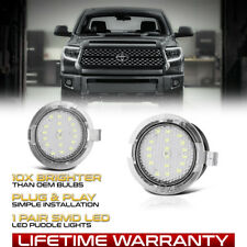 [FULL SMD] LED Side Mirror Puddle Light Lamp L+R For 07-19 Toyota Tundra Sequoia