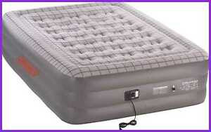 Premium Double High Supportrest Airbed W Built In Pump
