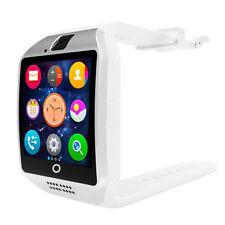 Premium SmartWatch Q18 WEISS Bluetooth Uhr Android Samsung SIM Smart Watch WEIß