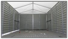 Lagerhalle Lagerzelt Trapezblechverkleidung 6x12m / 2,80m Traufe