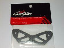FiveStars FS-2031 Carbon Bumper Brace For Kyosho Pure Ten V-One RR / RR Evo