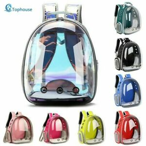Cat Bag Breathable Portable Pet Carrier Bag Transparent Space Pet Backpack