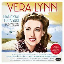 VERA LYNN - NATIONAL TREASURE: THE ULTIMATE COLLECTION 2CD SET (2014)