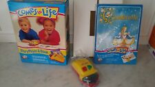 1993 YES! COMES TO LIFE StoryPlayer & Book TOY MICROPHONOGRAPH WITH Cinderella