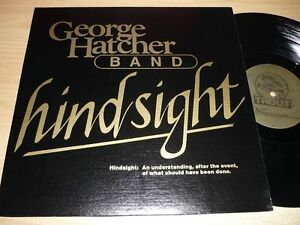 LP GEORGE HATCHER BAND - Hindsight / private press Southern Rock SEALED