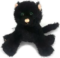 Ganz Webkinz Black Cat Plush Kitten No Code Stuffed Animal Toy Halloween