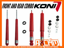 HOLDEN COMMODORE VT VX VY VZ WAGON KONI ADJUSTABLE FRONT REAR SHOCKS ABSORBERS