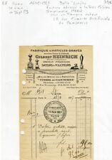 Paris II/IX ème 34 Rue Dussoubs & Dépt 59 - Très Célèbre Graveur STERN de 1927