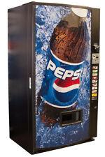 Vendo Univendor 2 Vending Machine Pepsi Graphic Free Shipping
