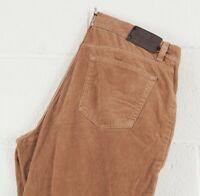 Vintage Pierre Cardin Men's Light Brown Corduroy Jeans W36 L30